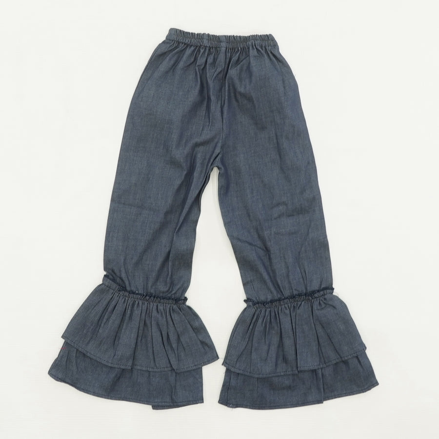 Double Ruffle Pants
