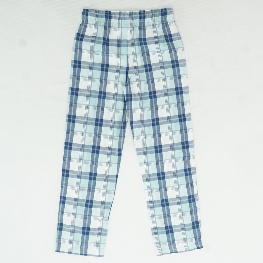 Blue Plaid Lounge Pants Size M