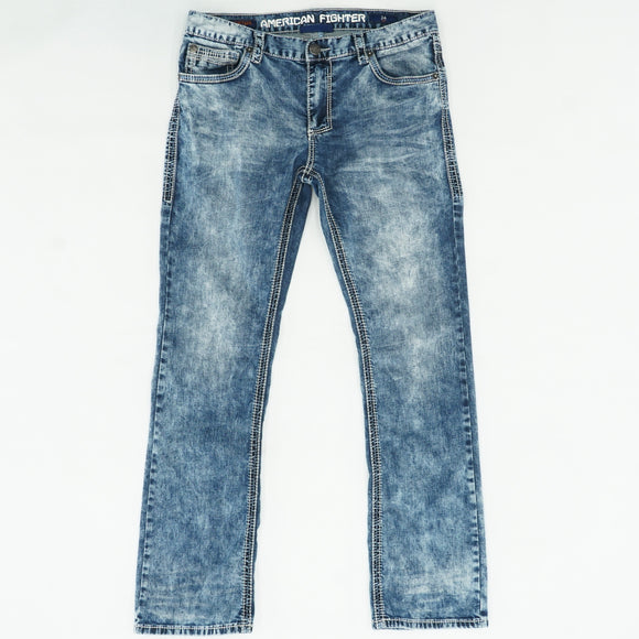Heritage Boot Cut Jeans Size 34