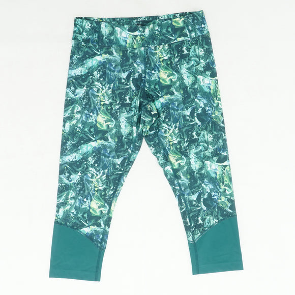 Chelsea Green Tropic Moving Sand Capri Size L