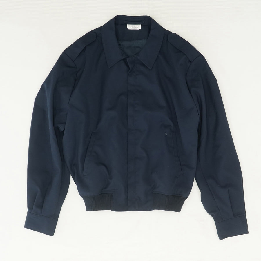 Navy Workwear Bomber Jacket Size S