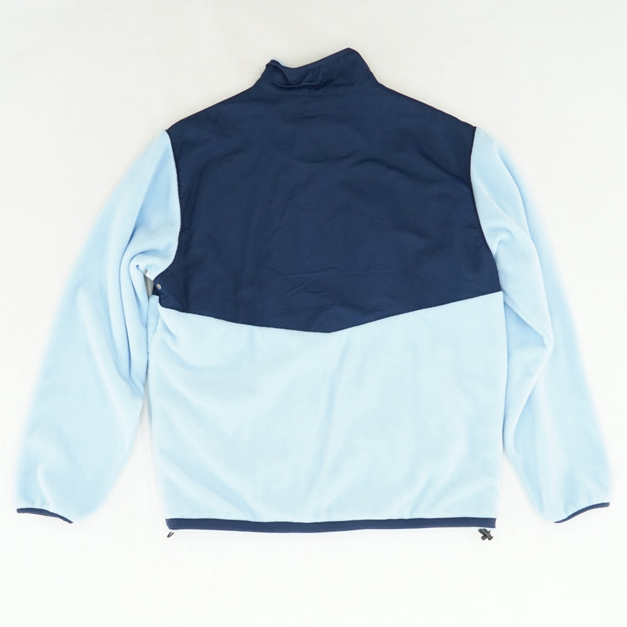 Blue Fleece Jacket with Chest Pocket  Size L