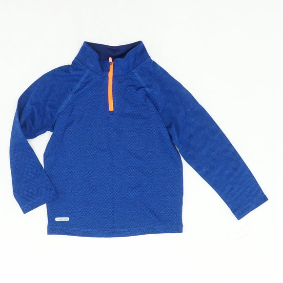Moisture Wicking Quarter Zip Pullover Size 4