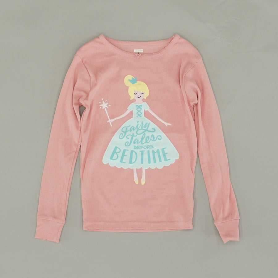 """Fairy Tales Before Bedtime"" Pajama Top Size 7"