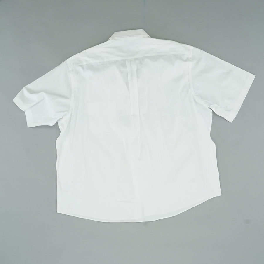 Club Room White Short Sleeve Button Down Size 18 1/2