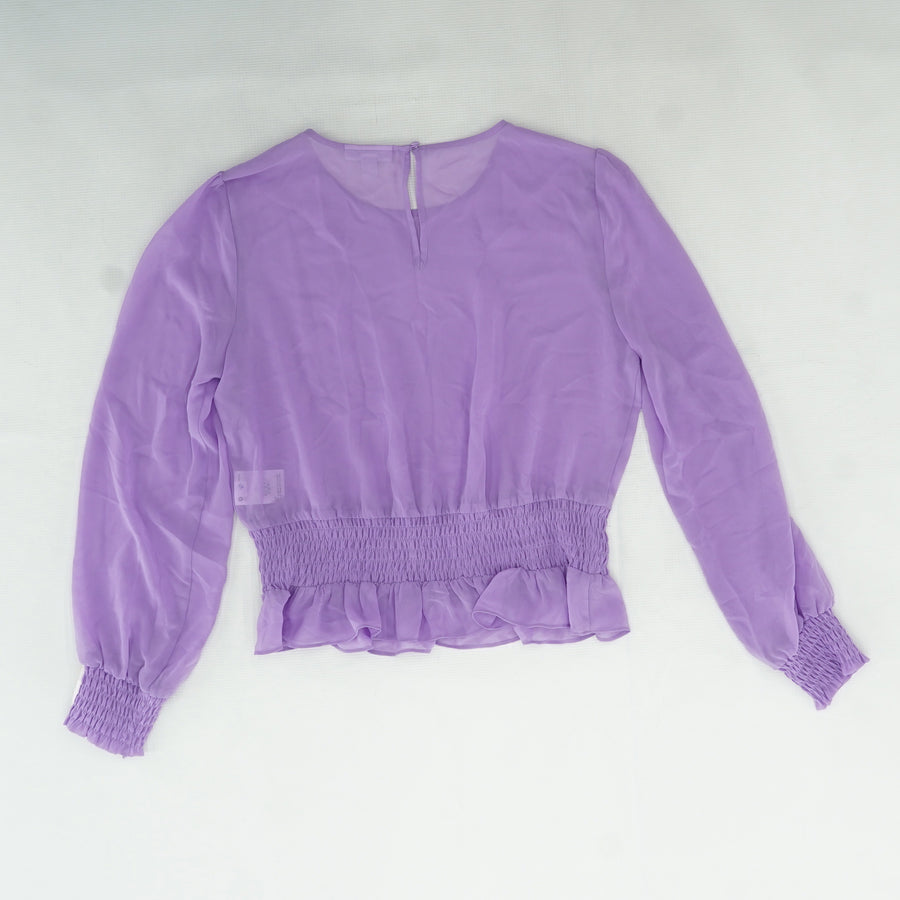 Tranquil Orchid Blouse Size M