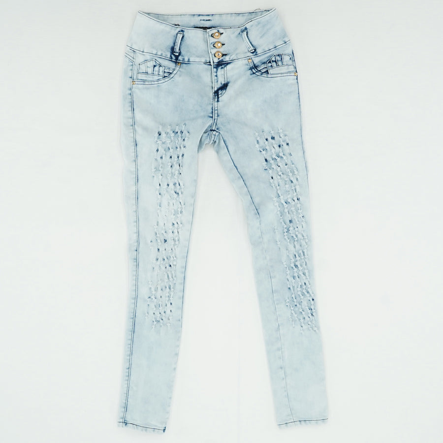 Distressed Skinny Jeans Size 9