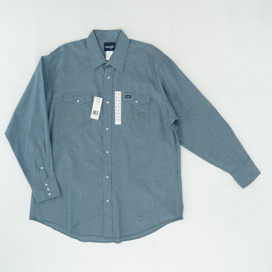 Blue Denim Button Down Shirt