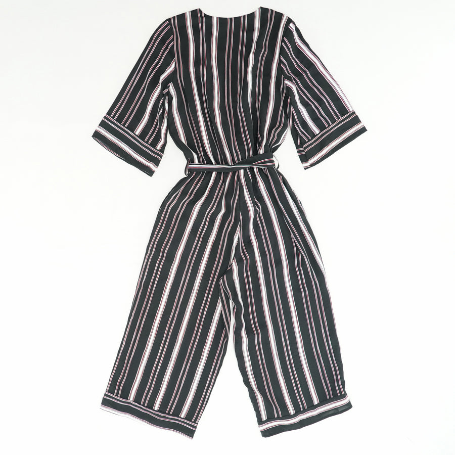 1/4 Sleeve Striped Romper Size XS