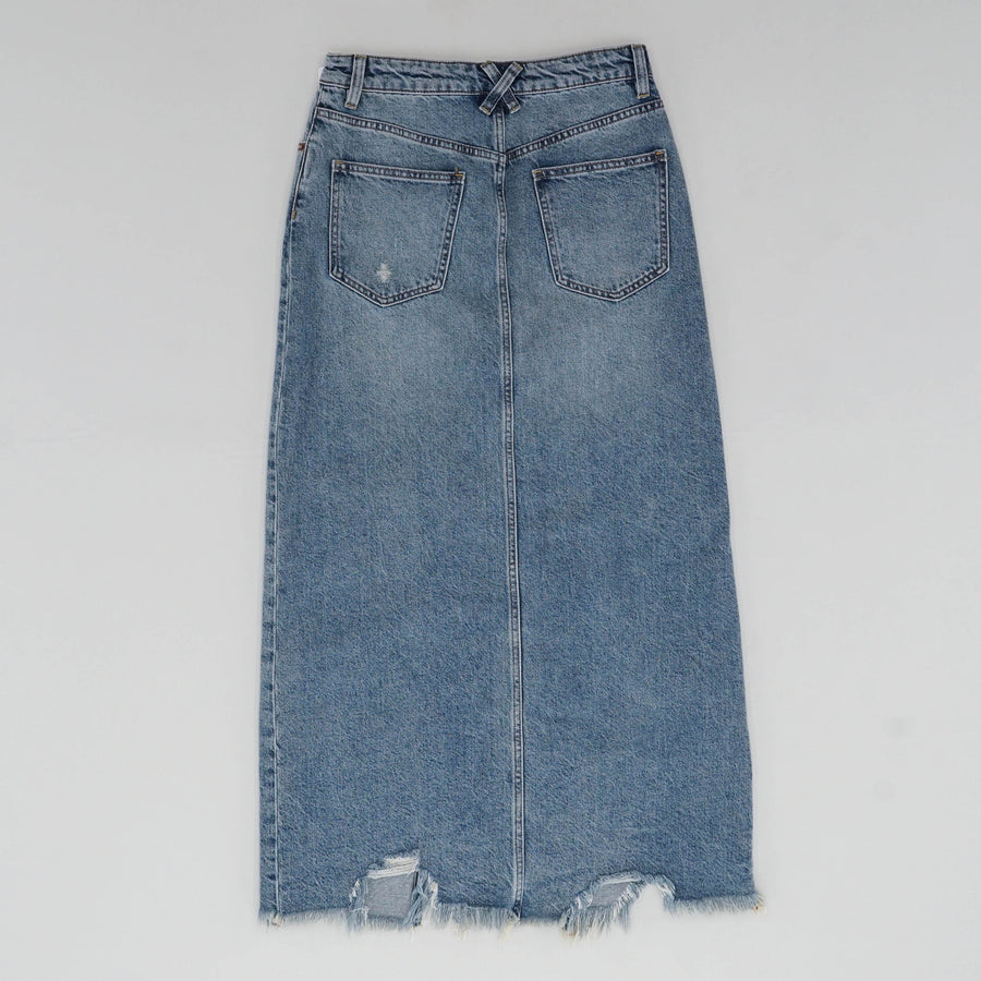 Rhiannon Denim Maxi Skirt
