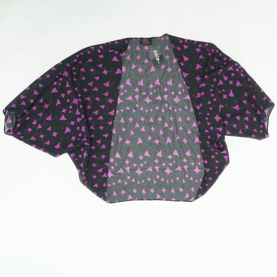 Stevie Shrug Drop Neck Blouse Size OS