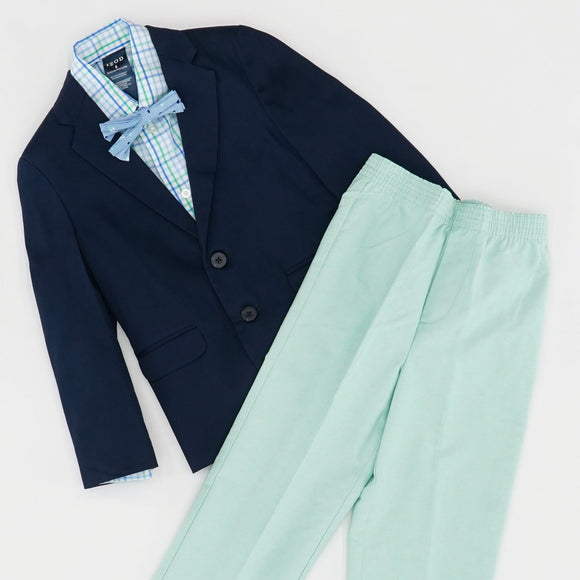 Boy's Twill  4PC Suit Set Size 6