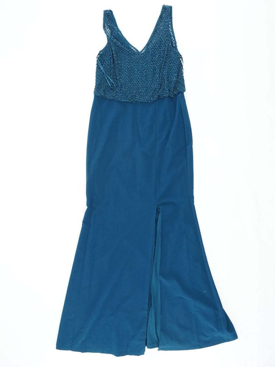 Beaded Long Dress Size 12