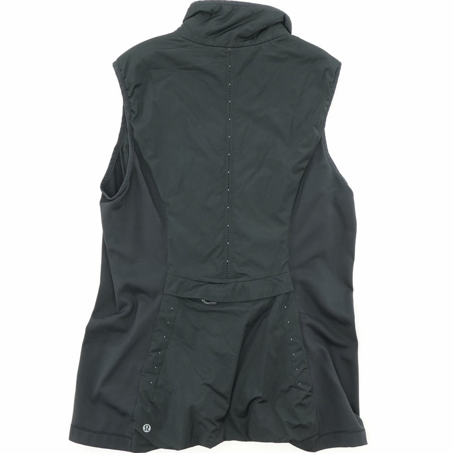 Black Run For Cold Vest Size 10