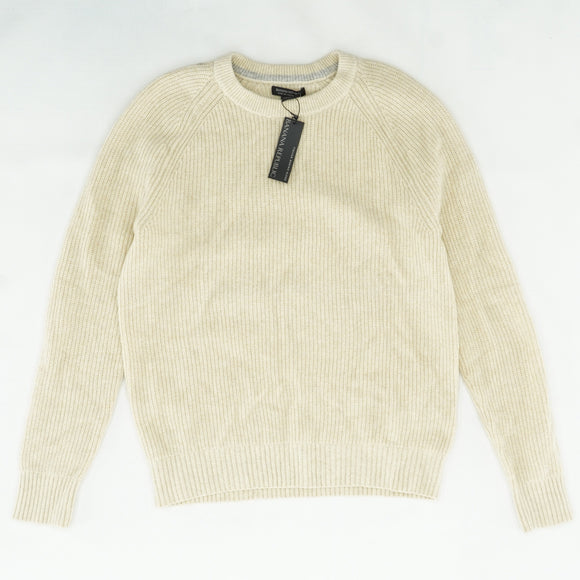 Ribbed Sweater Size L