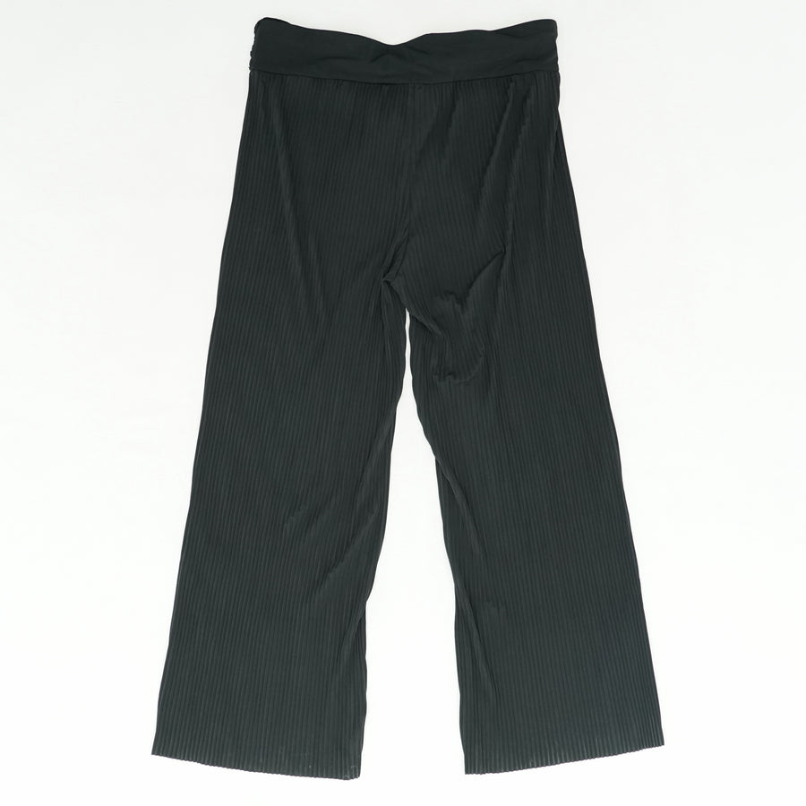 Lightly Pleated Pants wIth Sash Size XL