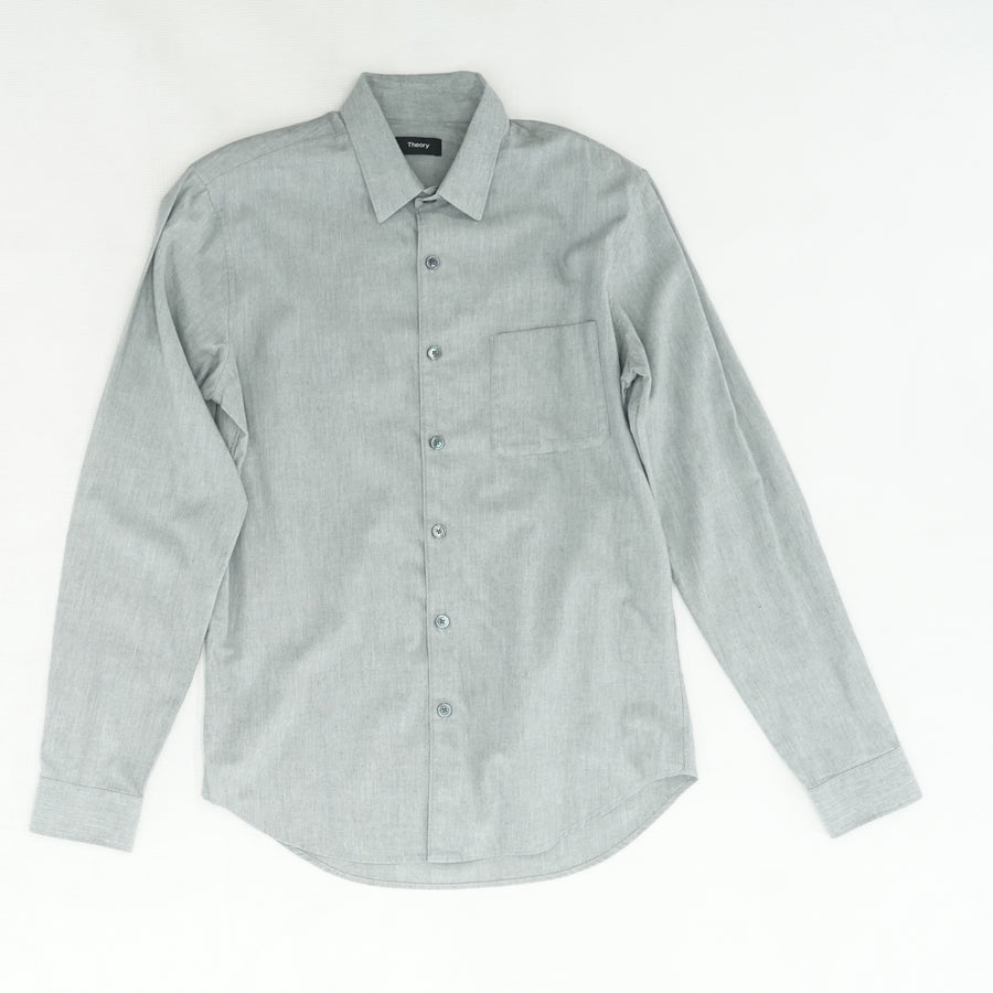 Rammy Slim Fit Light Flannel Shirt Size S