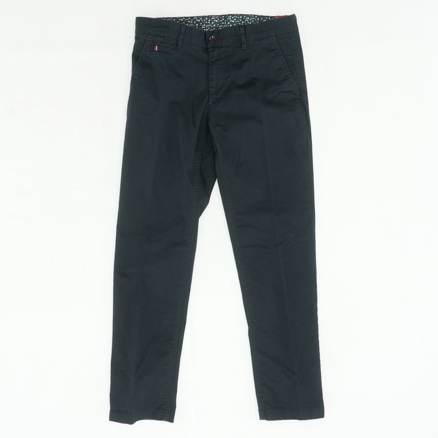 Casual Black Slacks Size 32W 30L