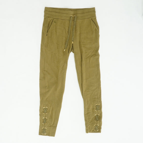 Lace Up Cotton Jogger Size XS