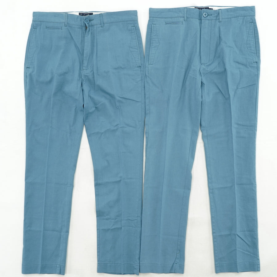 Men's Blue Dress Pants Bundle (2 per Bag)