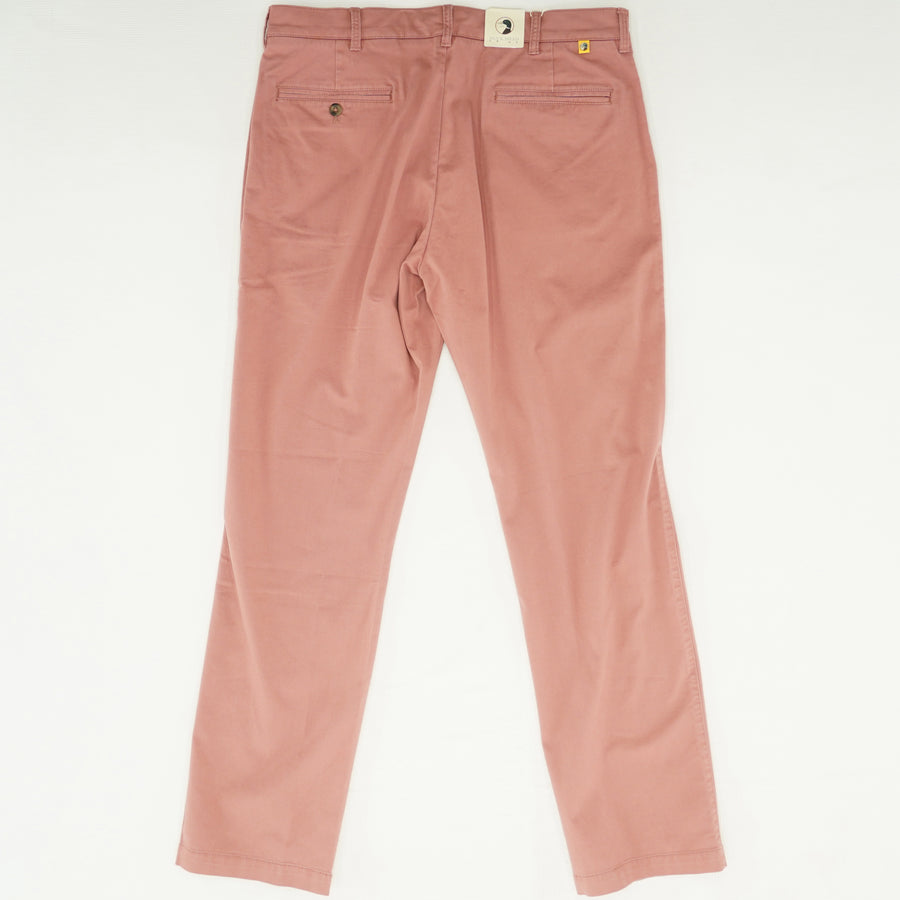 Weathered Red Slim Fit Pants - Size 34Wx32L