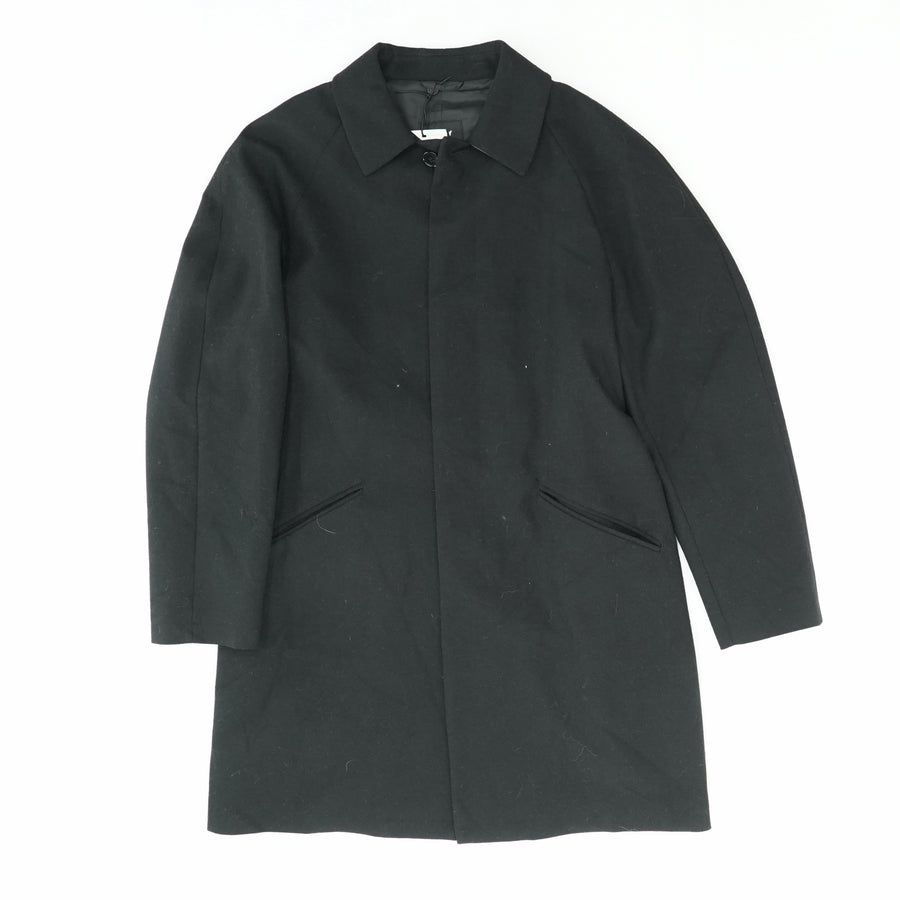 Black Derron Trench Coat Size 42R