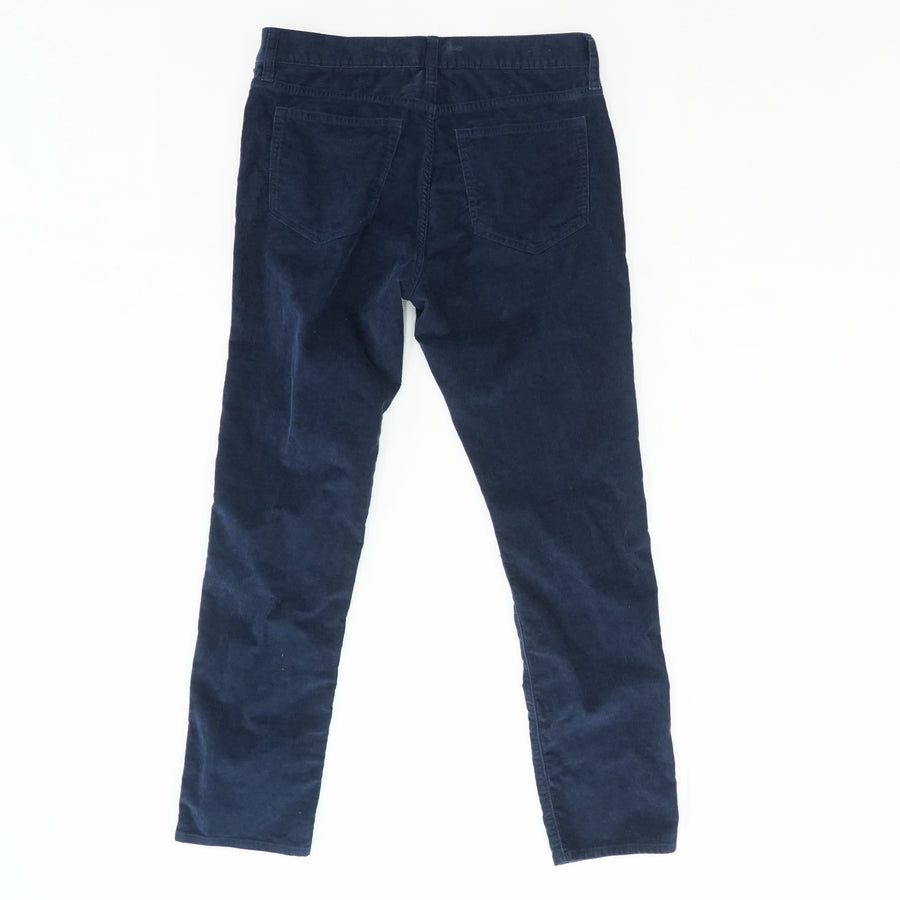 Slim-Fit Flex Corduroy Pants Size 31W 30L