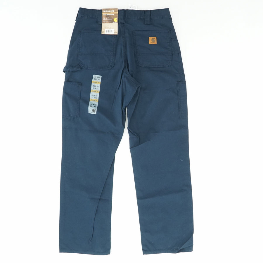 Original Fit Canvas Work Dungaree Pant Size 33W 32L