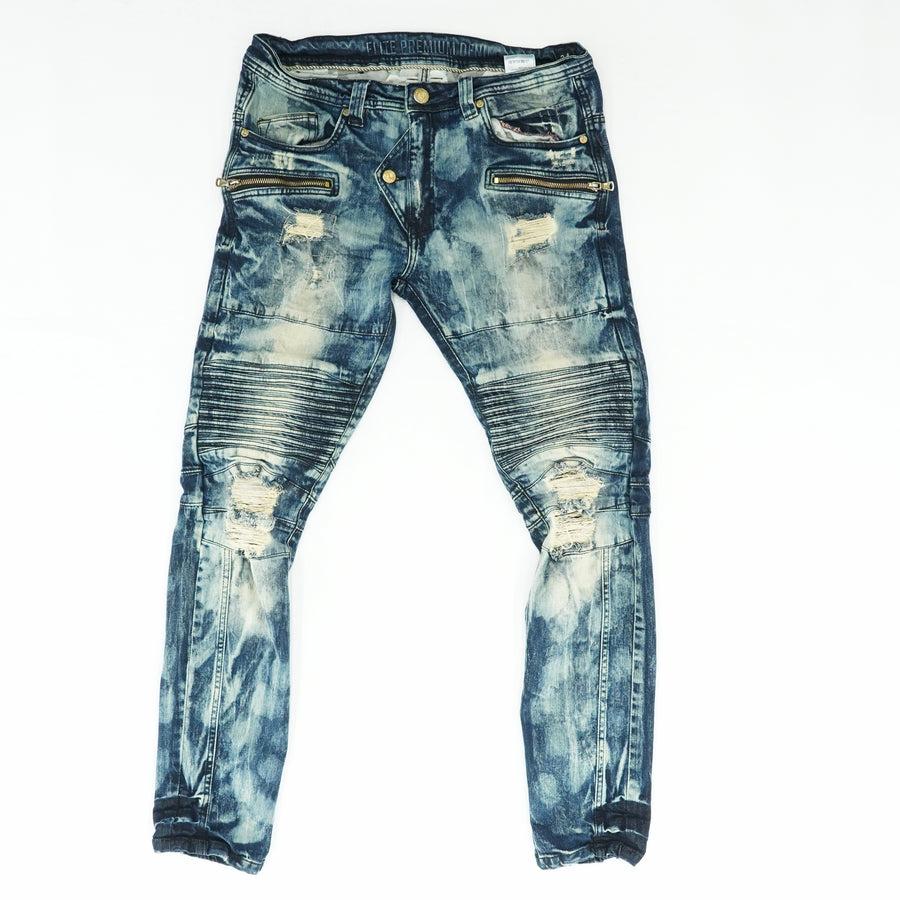 Denim Washed Jeans Size 34W 34L
