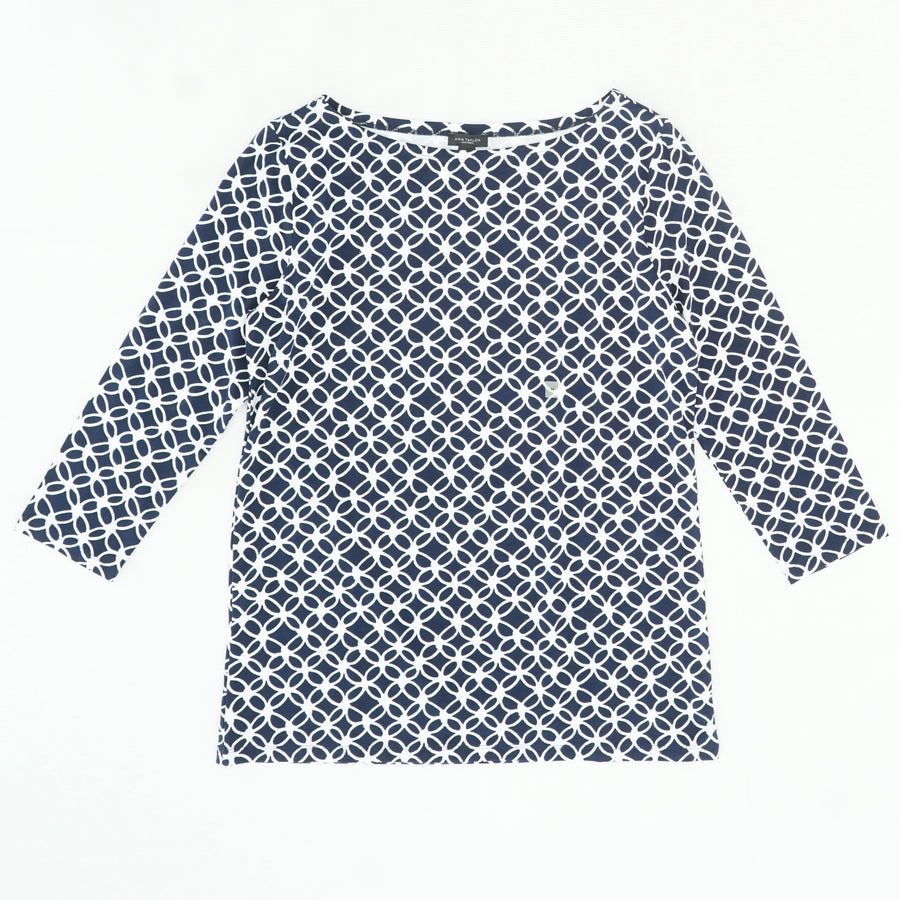 3/4 Sleeve Blouse Size M
