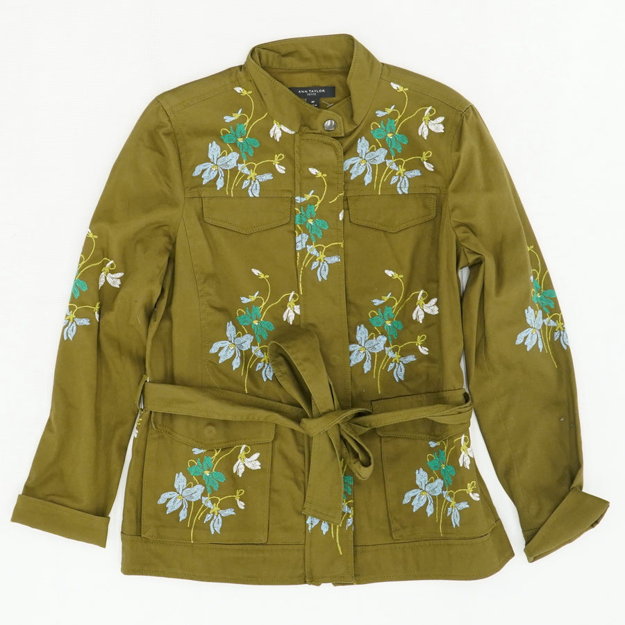 Floral Embroidered Jacket - Size MP