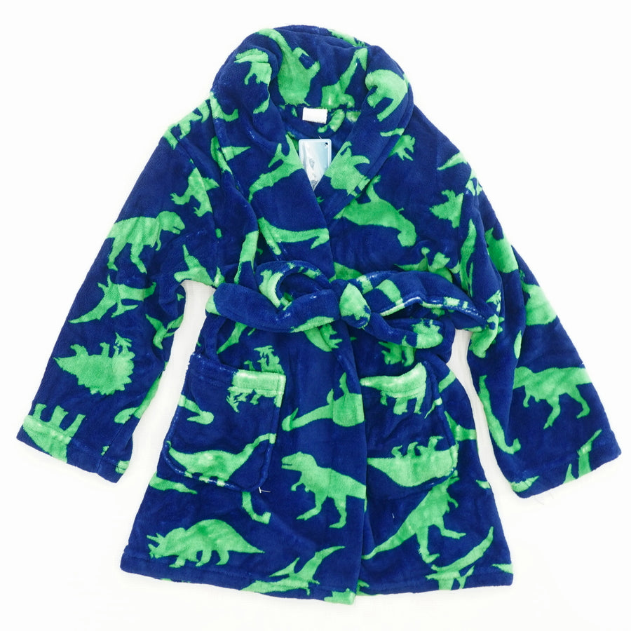 Dinosaur Bathrobe Size S