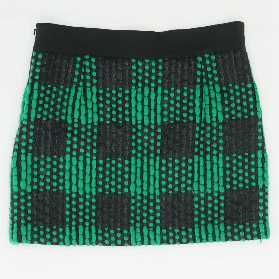 Textured Tweed Mini Skirt Size 2