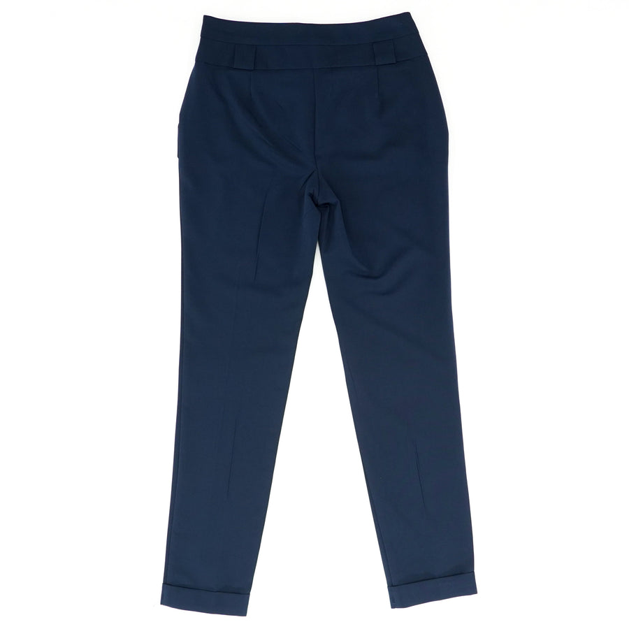 Two Button Mid Rise Pants - Size 4