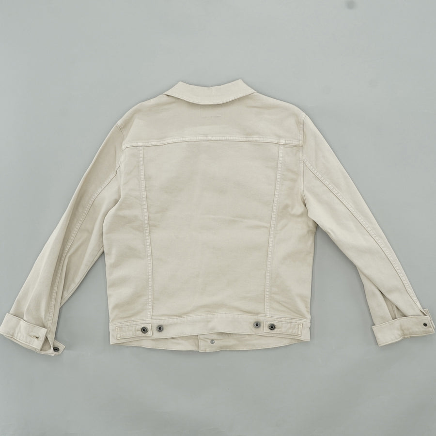 Tan Denim Jacket - Size S