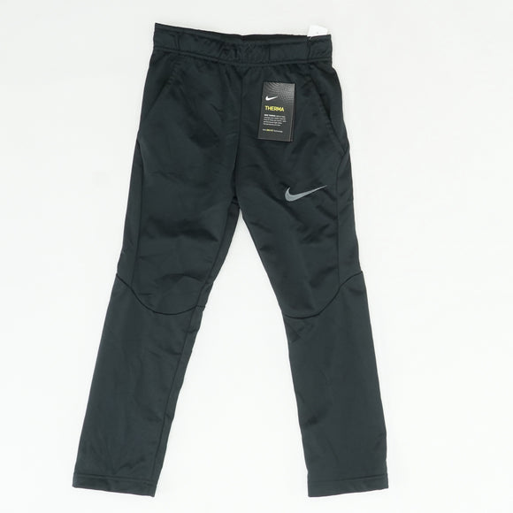 Black Solid Therma Pant Size S