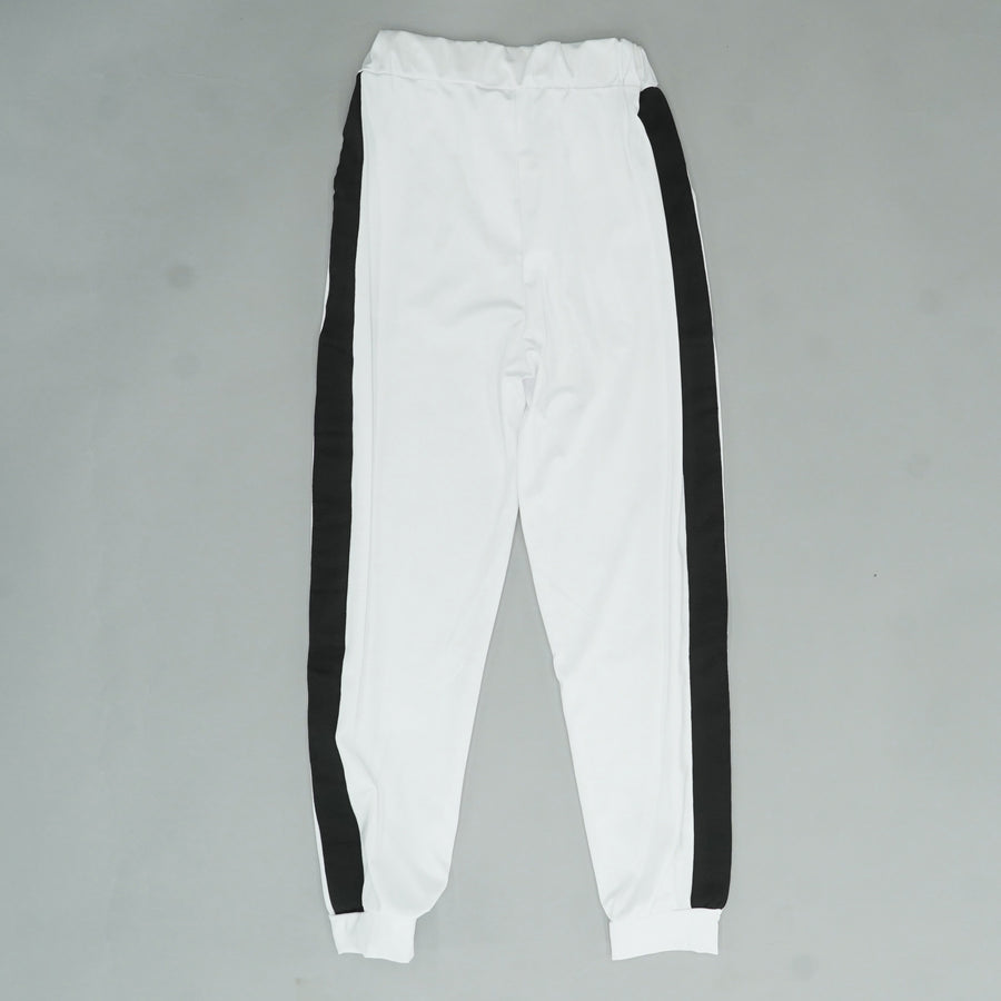 Lace Up Waist Relaxed Tapered Sweatpants Size S