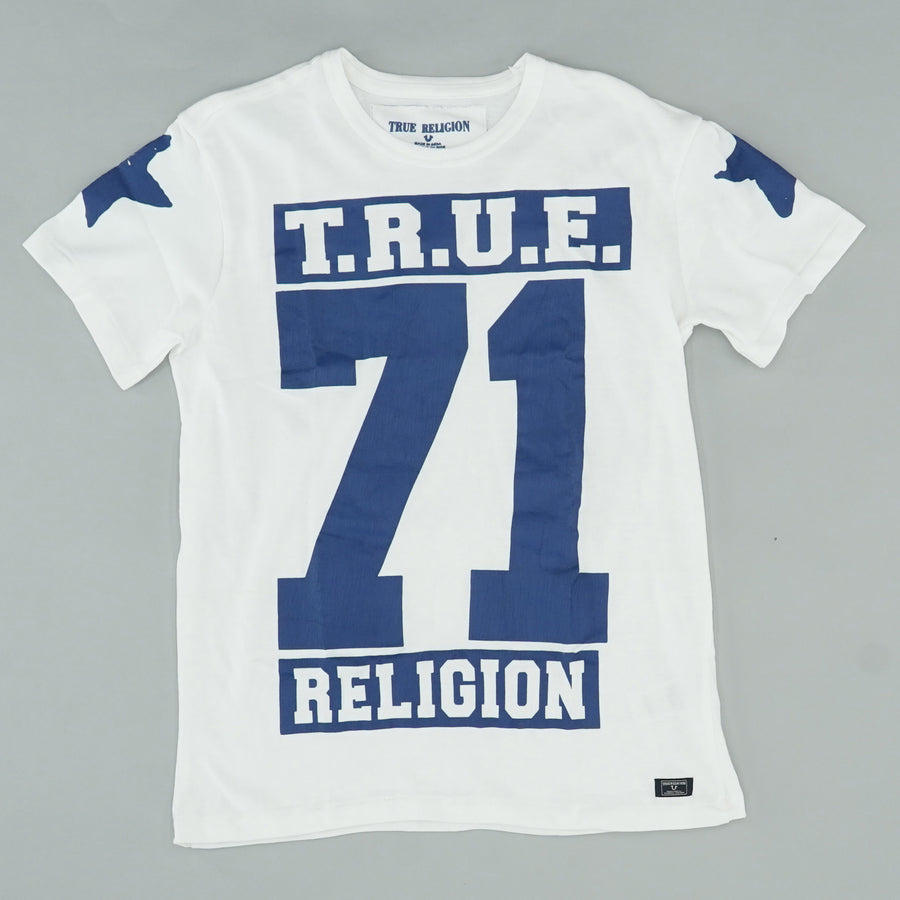 True 71 Stars Print Graphic T-Shirt
