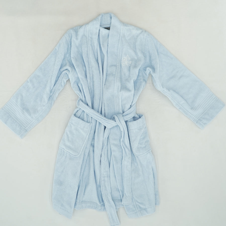 """RLL"" Monogrammed Robe Size M"