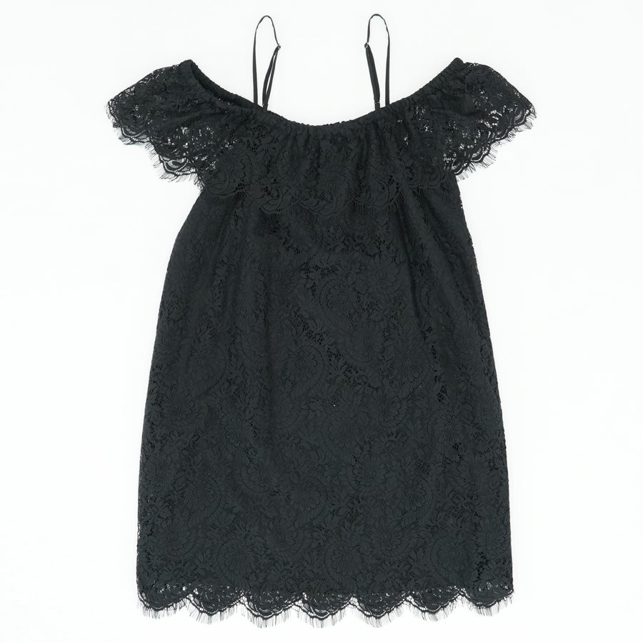 Lace Off Shoulder Mini Dress Size 10