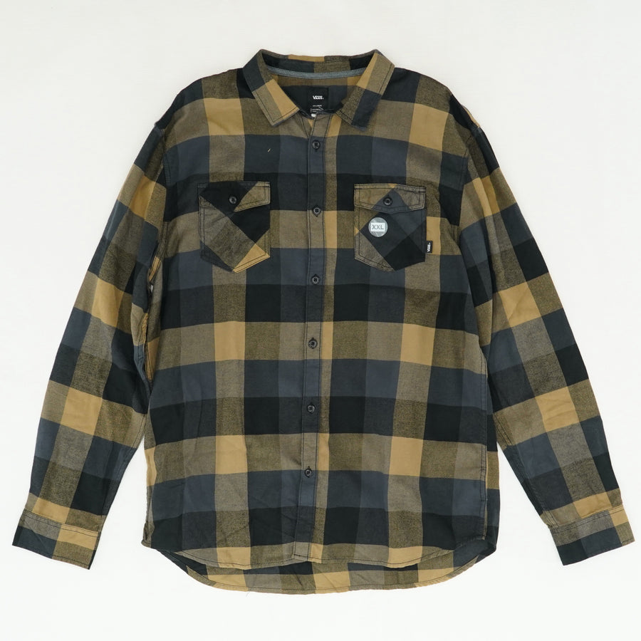 Collared Button-Up Flannel