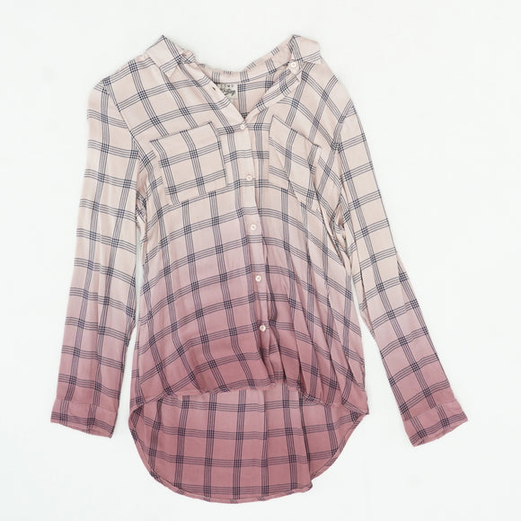 Pale Mauve Button Down Size M