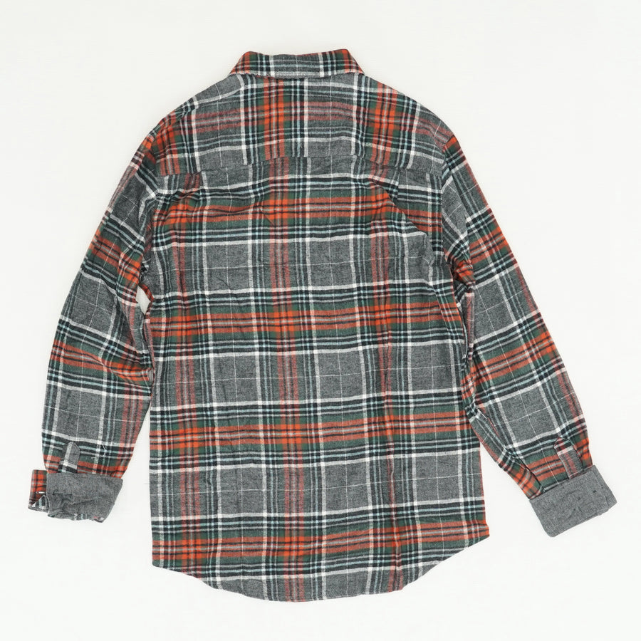 Plaid Button Up with Breast Pocket Size S