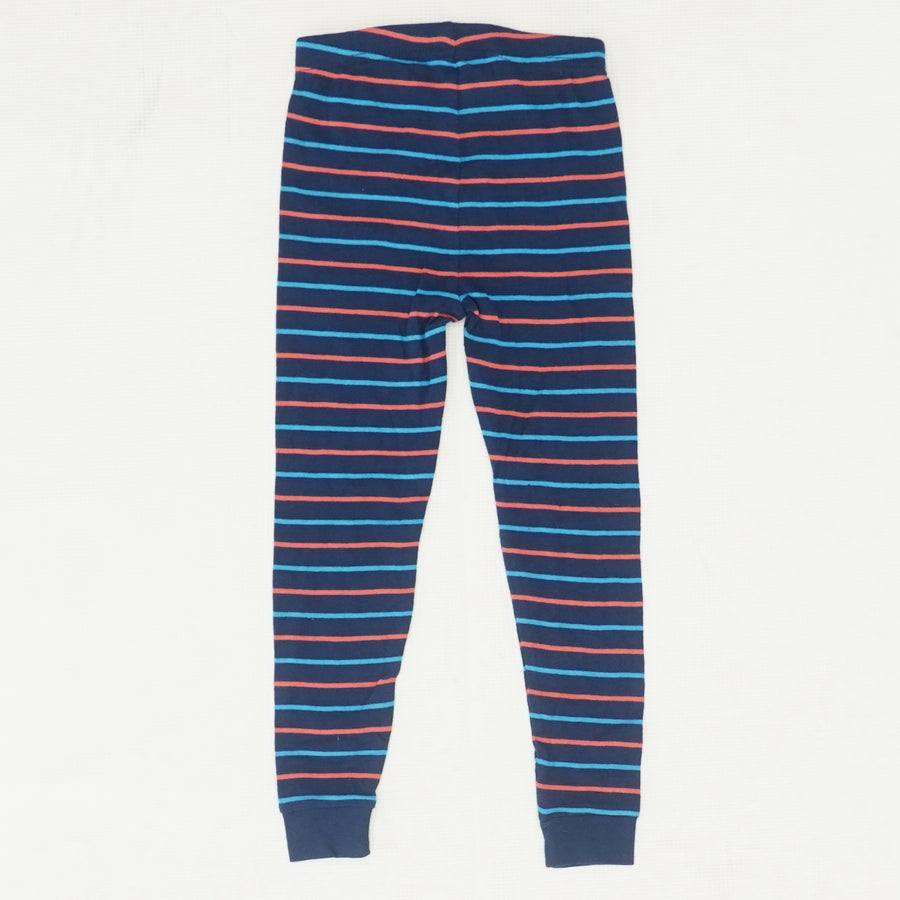 Striped Pajama Bottoms - Size 4T