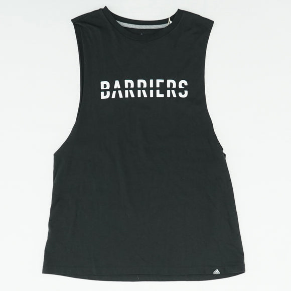 Barriers Split Word Tank Top Size L