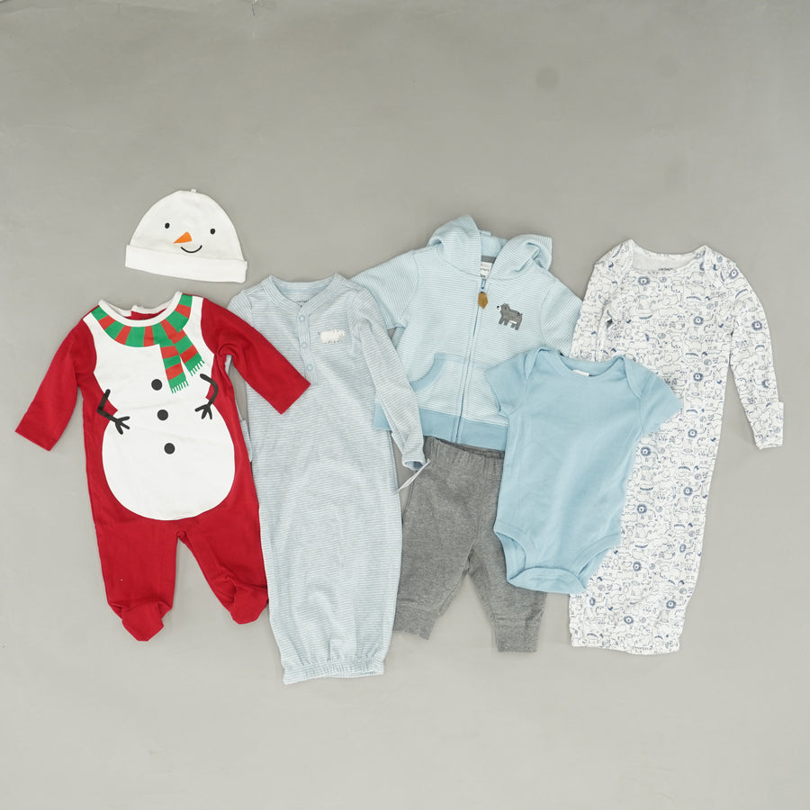 Boys' Assorted Brands Clothing Bundle - Size 3M