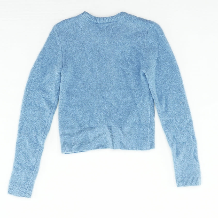 Crop Top Knot Front Sweater Size S