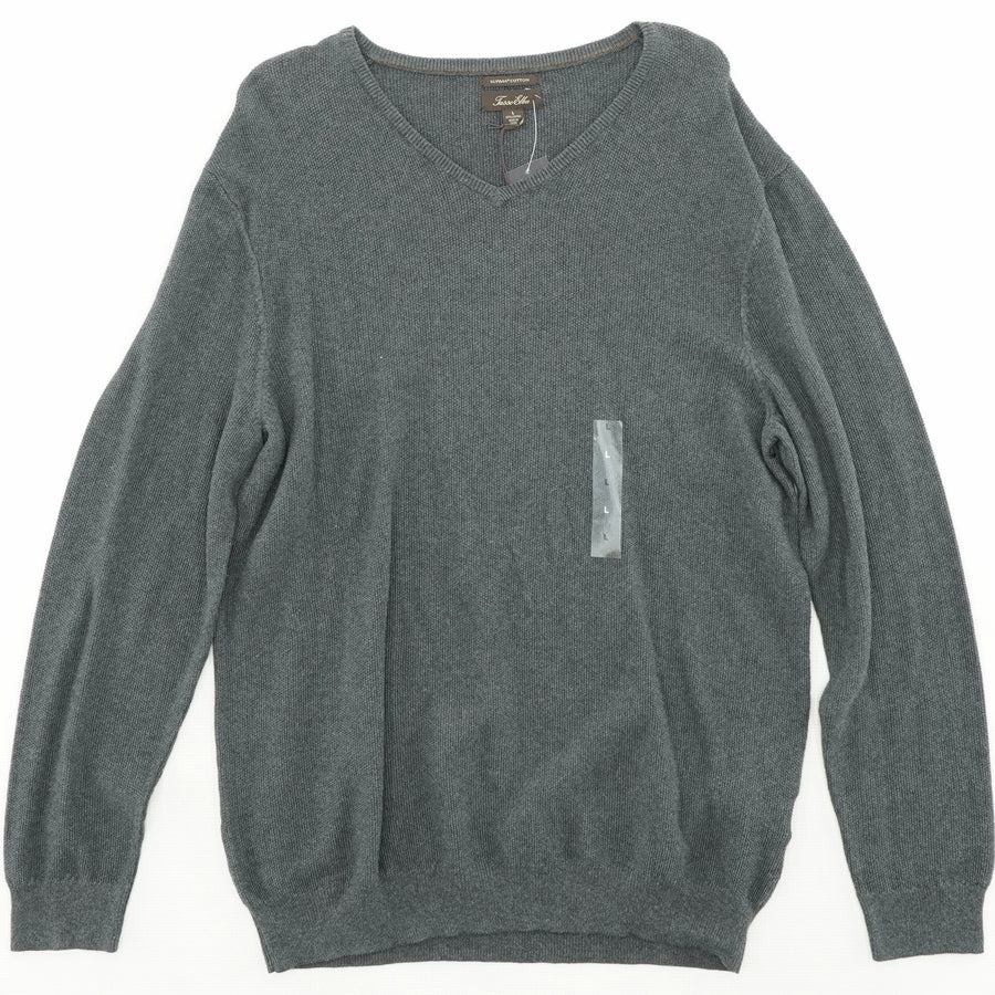Supima Table Pullover Size L