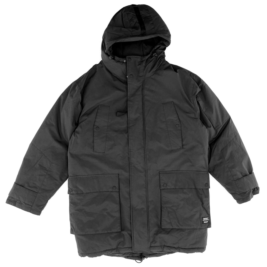 All Weather Insulated Hooded Parka Size L