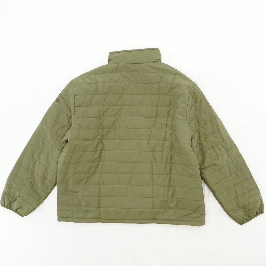 Green Quilted Puff Jacket Size XL